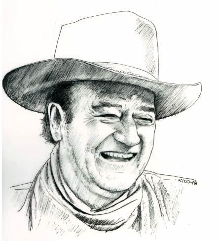 John Wayne par FCARLOS